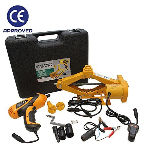 Electric Car Jack with Impact Wrench 2 5 Tonne Vehicle Van