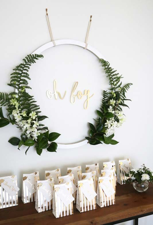 Baby Shower Decoration: Tips For Organizing +60 Perfect Photos