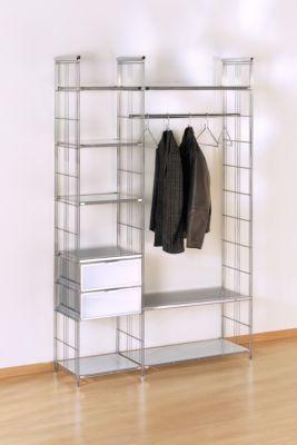 Chromregal Balton B III, Kleiderstange, ausziehbar günstig kaufen   Schäfer Shop
