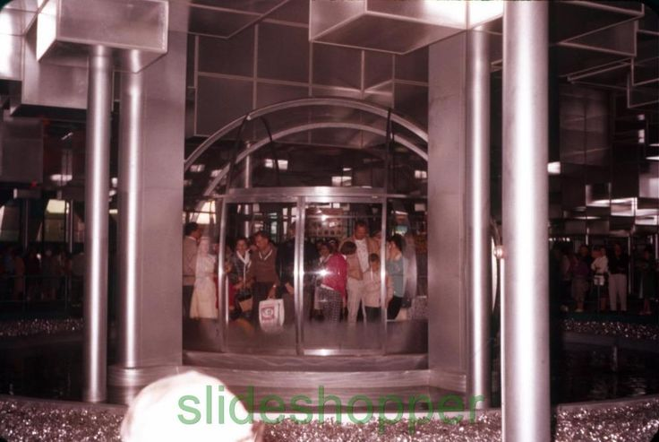Slide Photo Expo 1962 Seattle World's Fair View of Bubbleator Bubble Elevator