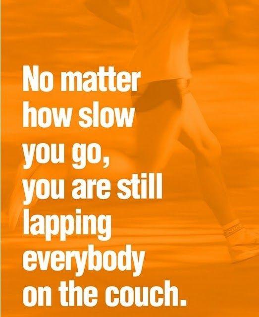 Couch potatoes don't set PRs. #motivation #inspiration