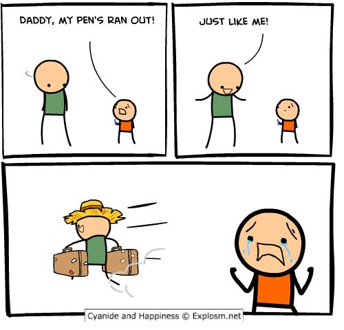 poor father joke, but in the situation could be the best ...