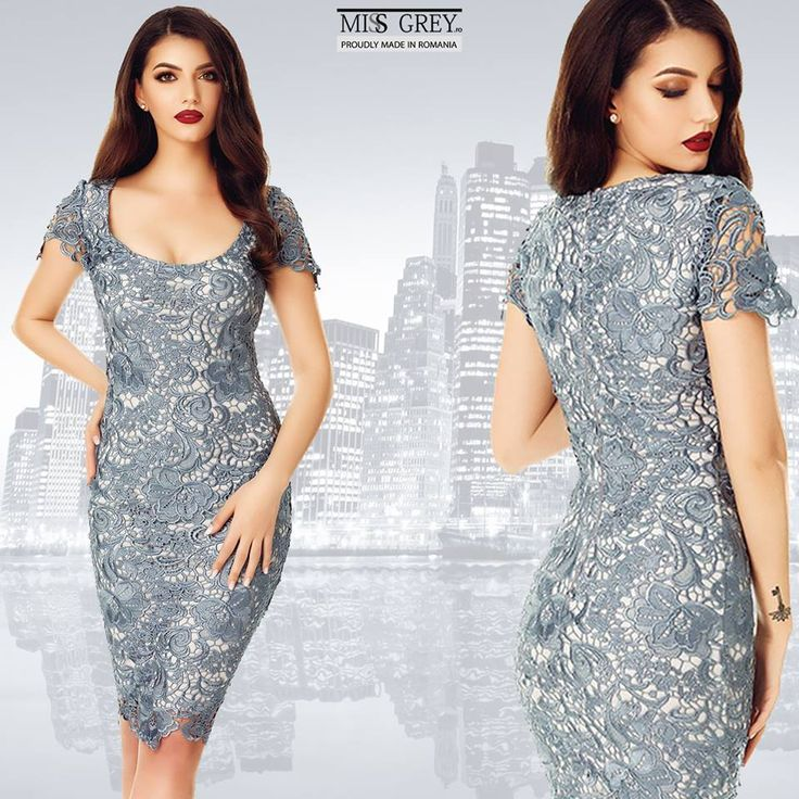 Searching for that dress that will give you a breathtaking look? Wear the grey Taisa dress and you'll dazzle with your appearance!
