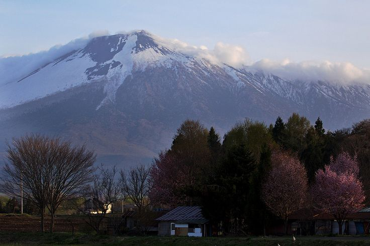 Mt.Iwate Watches over Spring | by jasohill