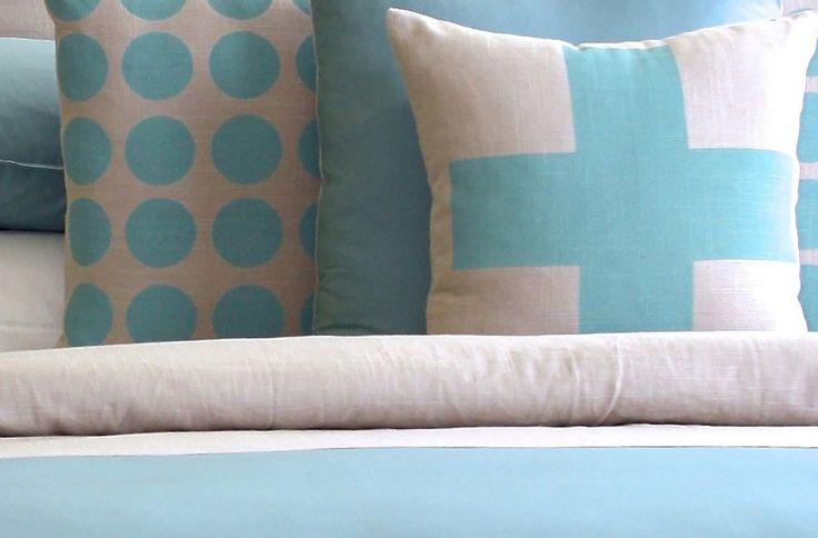 Thread Design's Cross Cushion will add a bit of colour to your bedroom #flybuysnz #490points #ThreadDesign