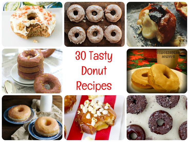 30 Tasty Donut Recipes