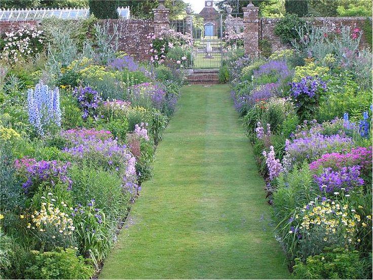 1000 images about garden border ideas on pinterest for Harewood house garden design