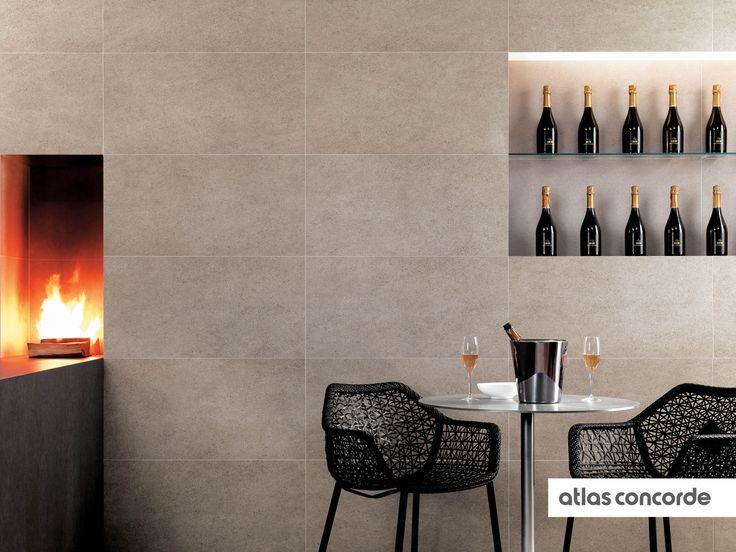 #ADVANCE Grigio Lipica | #AtlasConcorde | #Tiles | #Ceramic | #PorcelainTiles