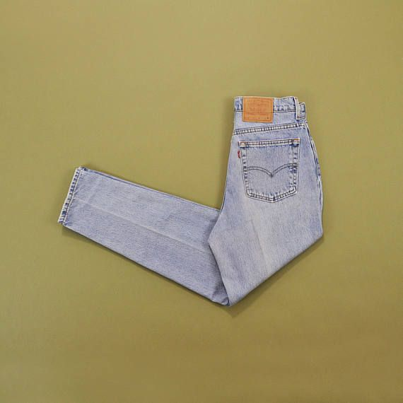 Levis 512 Jeans 90er Jahre Mom Jeans hohe Taille Jeans Slim