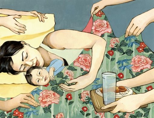 Motherhood Rooted:  Asian and Pacific Islander moms in the US embrace ancient post-birth traditions. Check out the article by Momo Chang!