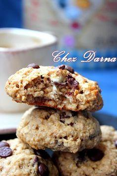 Cookies légers à la Compote de Pommes et aux Flocons d'avoine