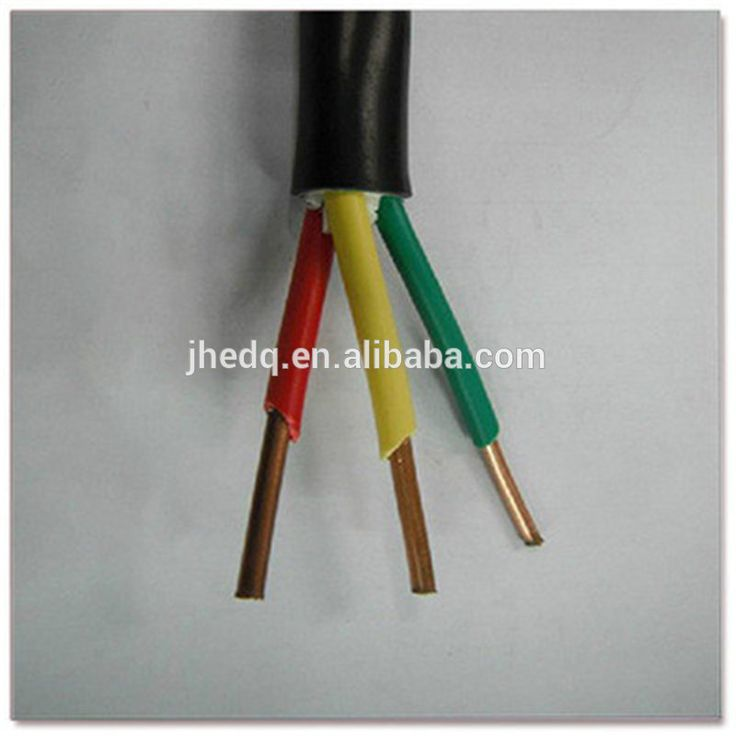 PVC insulated cable 1.5mm2 2.5mm2 4mm2 6mm2 10mm2 Household appliances PVC cable and wire