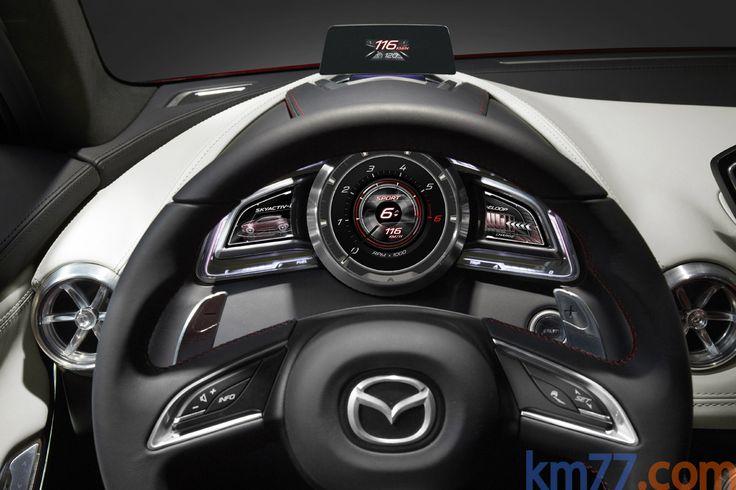 Mazda HAZUMI concept Turismo Interior