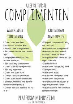 Groeimindset en complimenten