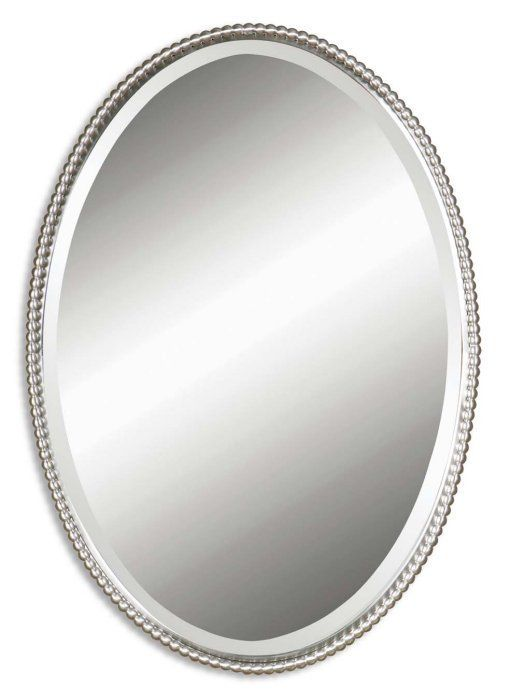 Gallery For Website Bathroom Great Mosaic Oval Bathroom Mirror With Decorative Design from Good Looking Oval Bathroom Mirrors