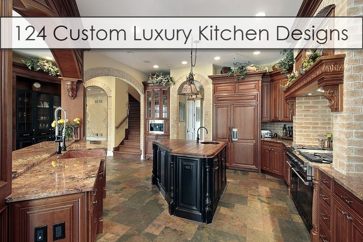 Luxury Kitchen Design Ideas Picture 2018