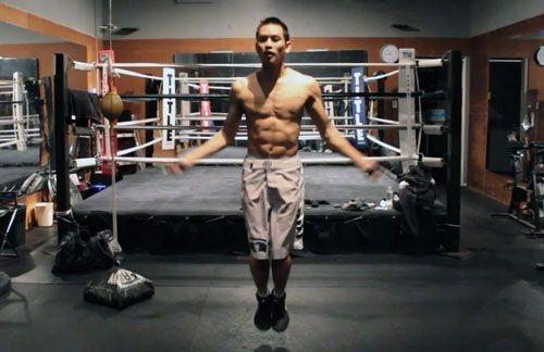 Want to improve your fighting endurance, punching power, balance and footwork, in just 10 minutes a day? …if so, then GET UP AND START JUMPING ROPE! I hear fighters complain about their footwork and endurance and yet they've been skipping the jump rope sessions. Don't cry when your opponent moves better than you do because […]