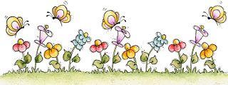 Bordes de flores para imprimir