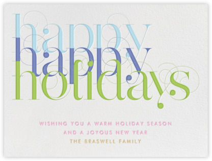 Happy happy holidays paperless post 2 coins