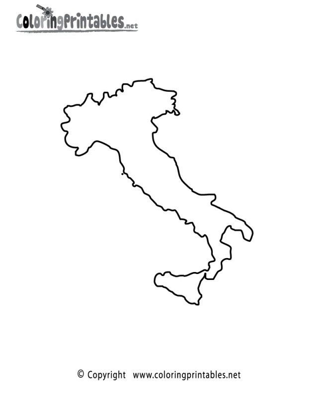 Inspired Image Of Italy Coloring Pages Coloring Pages Flag