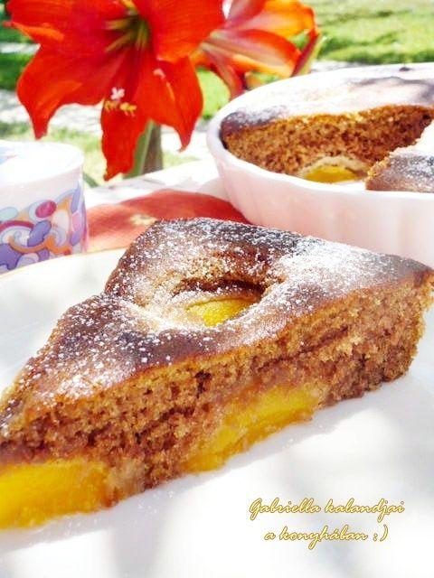 Gabriella kalandjai a konyhában :): Barackos pite - Nigella receptje alapján