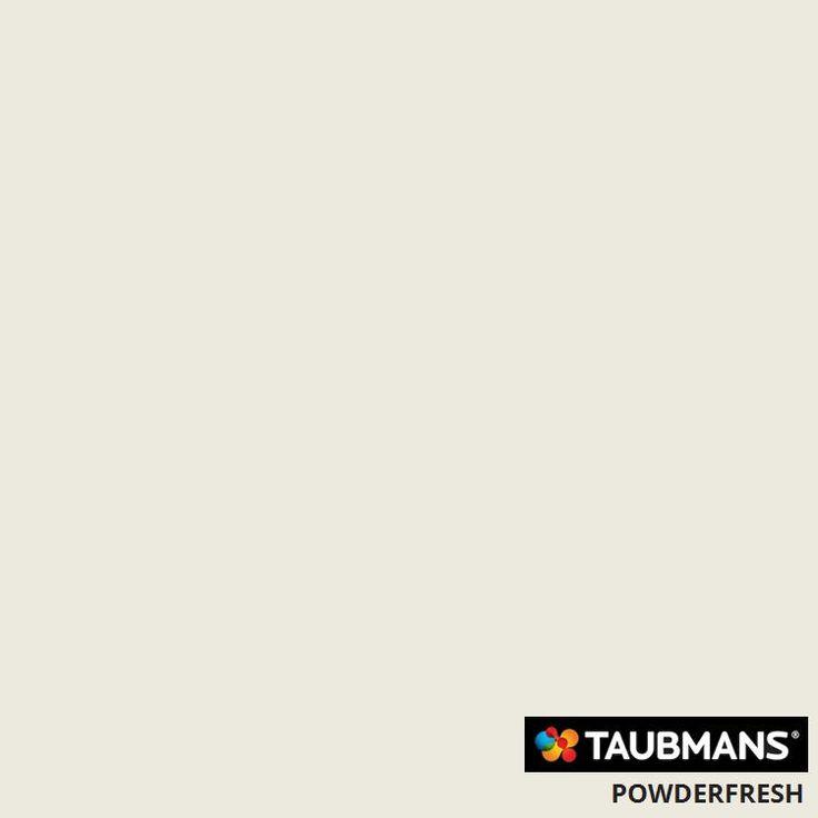 #Taubmanscolour #powderfresh