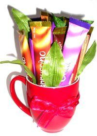 Coffee Sachet Bouquet — craftbits.com  great office gift