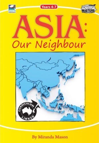 Asia - Our Neighbour has been written for teachers of Years 4, 5, 6 and 7 who are required to integrate the topic of #Asia and #Australia's engagement with Asia into their everyday teaching: http://ow.ly/niHCc #education #geography