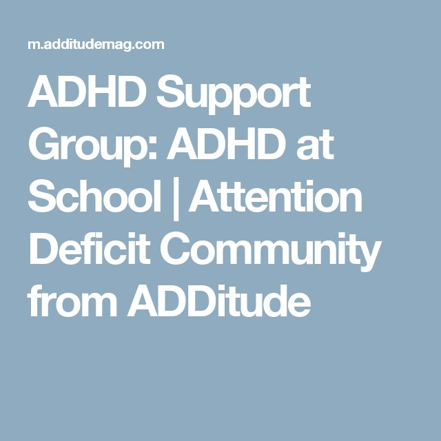 add adult support group