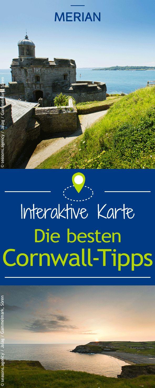 Die besten Cornwall-Tipps auf einen Blick