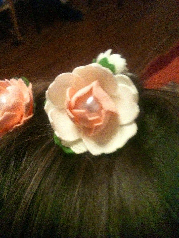 Люблю творить: Первые цветочки.
