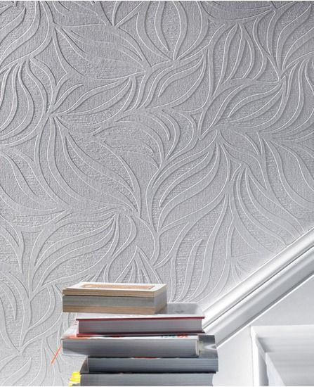Eden Paintable Textured Wallpaper For The Home