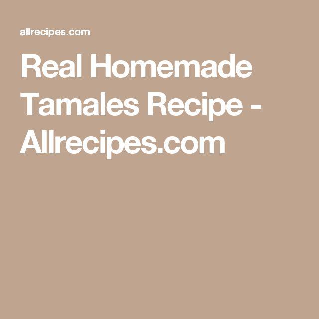 idee su Tamales Fatti In Casa su Pinterest | Tamale, Ricetta Di Tamale ...