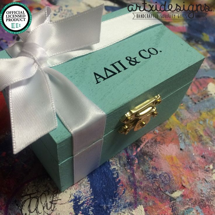 Adpi & co. Tiffany inspired pin box❤️ Artxidesigns