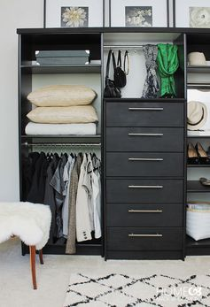 7 organizing tricks to make your life easier, because closet space is hard to come by in New York.