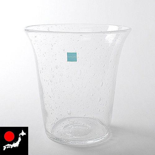 【日本の手仕事】ハンドメイド・気泡ガラス ワインクーラー
