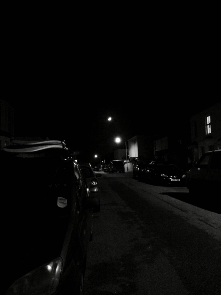 Falmouth on a dark dark night