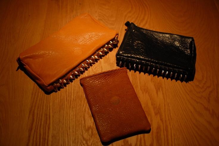 Clutch Tan & Black, Brown Ipad cover | NH oslo