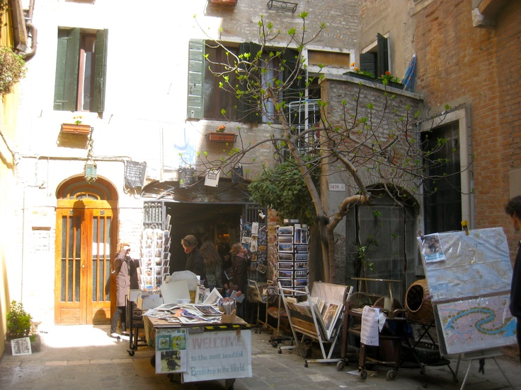 The most beautiful book store in Venice