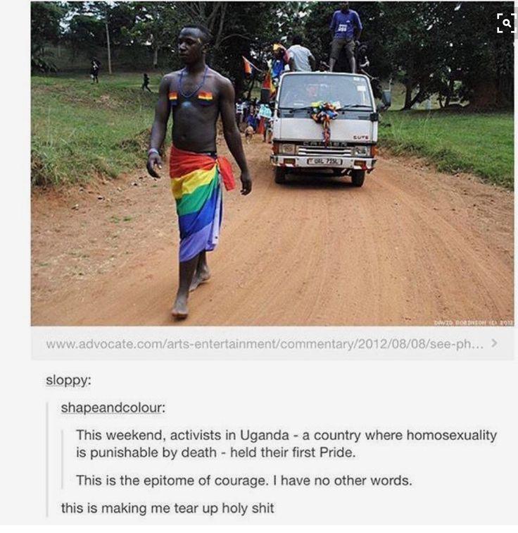 Celebrating Gay Pride In Uganda