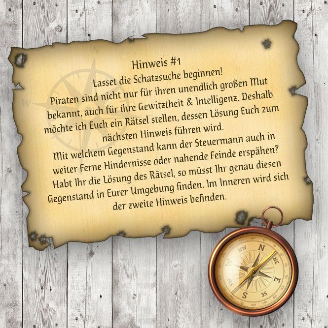 Nachtwanderung Mit Schatzsuche Für Kleine Piraten. Schatzsuche  KindergeburtstagKindergeburtstag ...