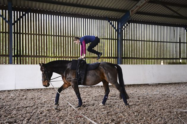 Looking for a new challenge for 2015? Find out why Horse & Hound's intrepid first-timer Pippa Roome recommends you give vaulting a try [VIDEO/BLOG] -  http://www.horseandhound.co.uk/features/hhgoesvaulting/#qEkGZHoTCZ3cxKTo.99