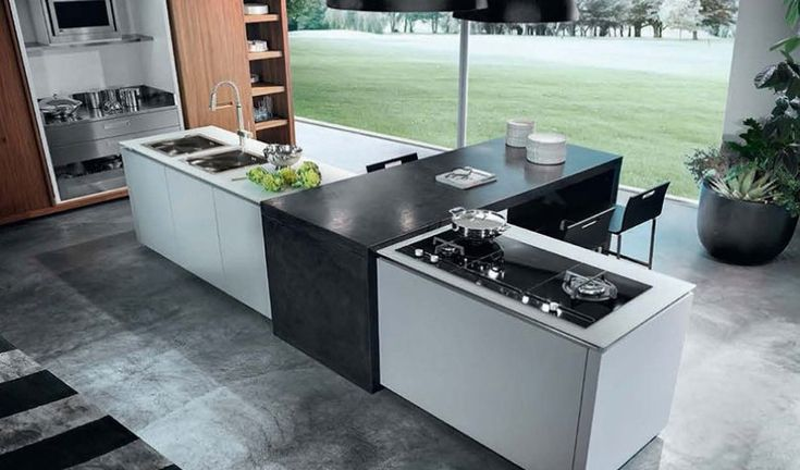 Modern style kitchen cabinets | Luxury Furniture | Eurooo.com