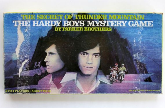The Hardy Boys Mystery Board Game The Secret of Thunder Mountain Parker Brothers 1978 No. 381 COMPLETE