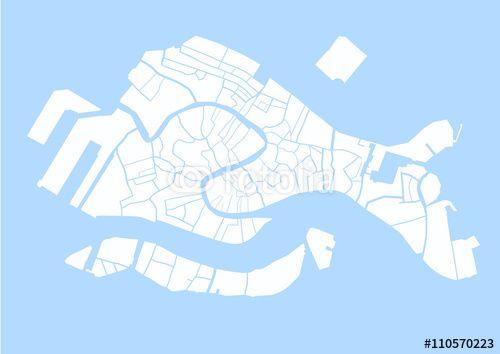 """Téléchargez le fichier vectoriel libre de droits """"Plan des canaux de Venise"""" créé par Aurélien Antoine au meilleur prix sur Fotolia.com. Parcourez notre banque d'images en ligne et trouvez l'illustration parfaite pour vos projets marketing !"""
