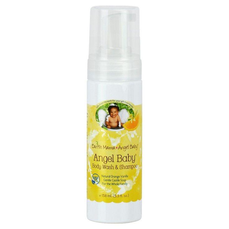 Earth Mama Angel Baby Body Wash & Shampoo - 5.3oz