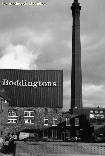 Boddingtons brewery, just on the other side of victoria station, STANK! I would walk past it on my way to work in Salford every morning for a year and a half and the smell would nock me out - especially when hung over...