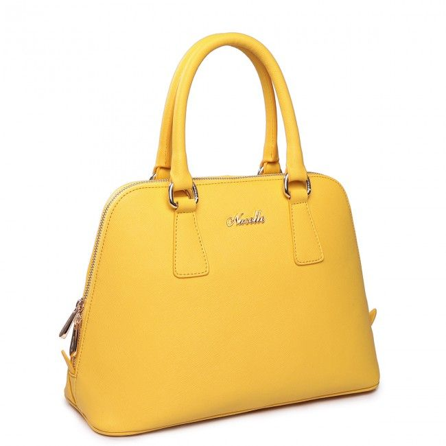Genuine Leather Sea rhythm series leather bag Yellow - Buy it now at www.tysiza.com - Free Worldwide shipping on select products!