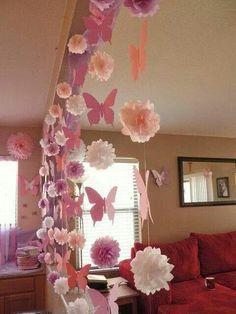 Mariposas para el cuarto