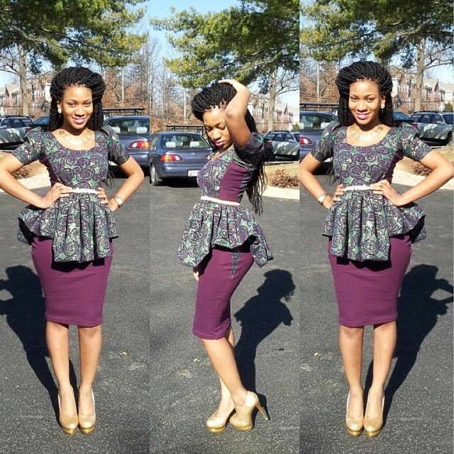 Ankara Top 3 African Fashion Pinterest Awesome Style And Love This